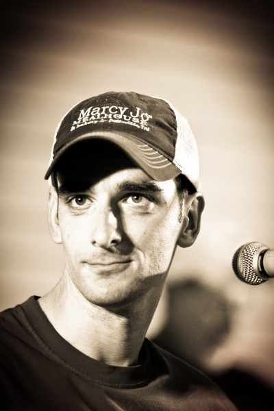 Bradley Walker performs at a Joey+Rory event (Image: joeyandrory.com)