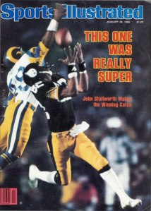 Sports Illustrated cover featuring John Stallworth