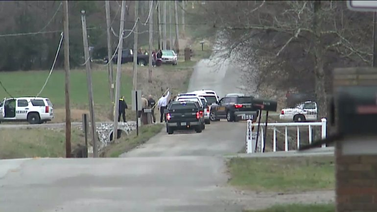 The Madison County Sheriff's Office says a body was found in a pond on Elkwood Section Road on Tuesday. (Photo: Dion Hose/WHNT News 19)