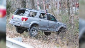 Chaysen Garner, 5, was thrown from this vehicle in the March 2014 crash. (WHNT News 19 File)