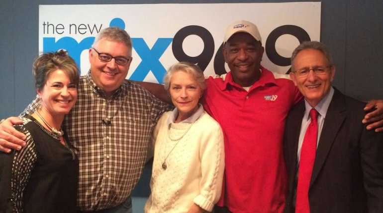 Left to right: Abby Kay, John Malone, Missy Ming Smith, Dion Hose and Steve Johnson.