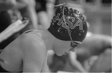 15-year-old Kobie Melton has an Olympic Trials qualifying time in the 100-meter backstroke. (Photo: Elizabeth Hinely)