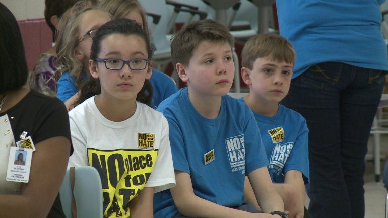 Students from more than 20 Huntsville City Schools attended the program on April 14 at Huntsville High School's Freshman Academy. (Photo: Jeremy Jackson/WHNT News 19)