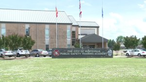 The Bessie K. Russell Library will soon move to this building on Sparkman Drive which currently houses the City of Huntsville's Public Safety Training Academy.