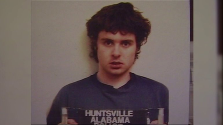 Jeffrey Franklin after his arrest (WHNT News 19 file)