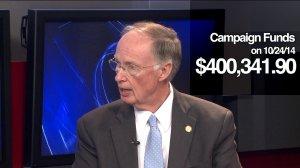 Twelve days from the 2014 gubernatorial election, Bentley still has 400k to spend.