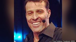 Tony Robbins (Image courtesy of MGN Online)