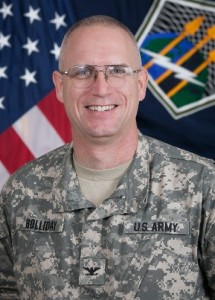 Incoming Col. Tom Holliday, to assume command of Redstone Arsenal Garrison Wednesday