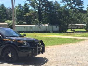 Two people were found dead inside this home on Gatlin Road in Toney on Thursday, June 9. (David Kumbroch/WHNT News 19)