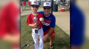 Sean Copeland, 51, and his son Brodie, 11, both of Texas, were killed in Thursday's attack, their family said.