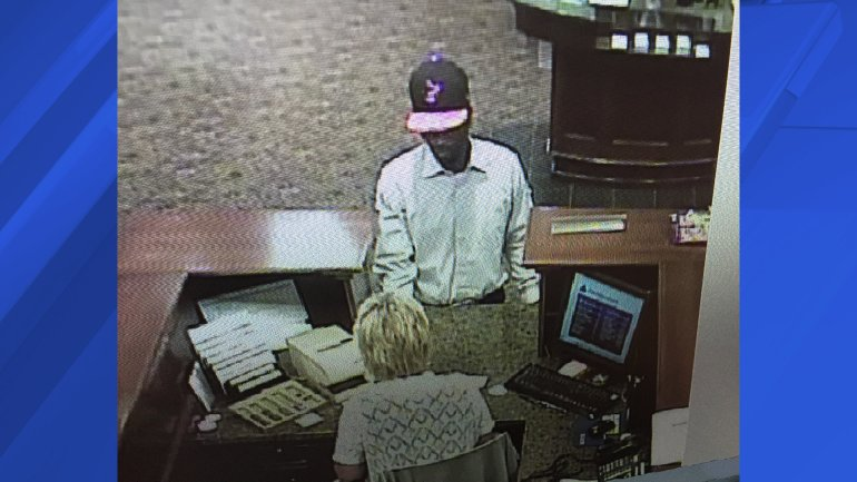 Athens bank robbery suspect