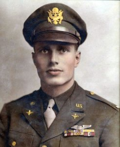 Ken Thompson served in the U.S. Army Air Corps in World War II.