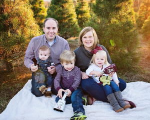 Chief Meteorologist Jason Simpson and his family