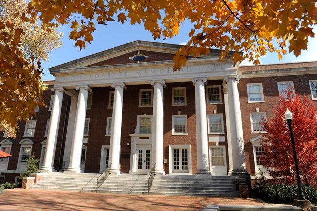 Memorial Hall on Vanderbilt University Campus (Image: Vanderbilt.edu)