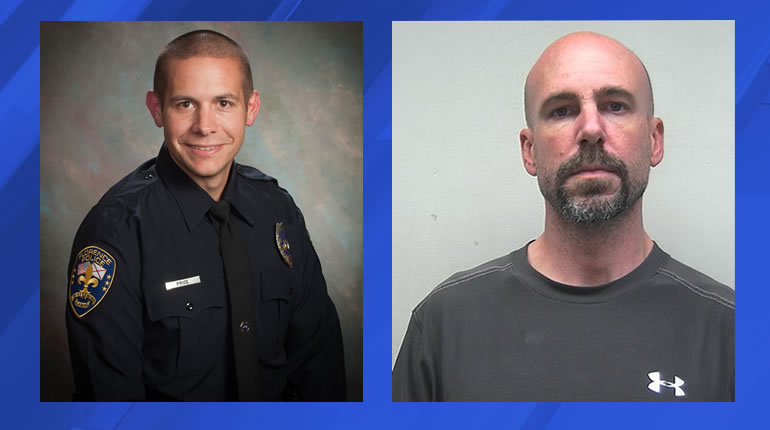 Detective Michael Price, left, and Chris Kilpatrick, right (Photos: Florence Police Department)
