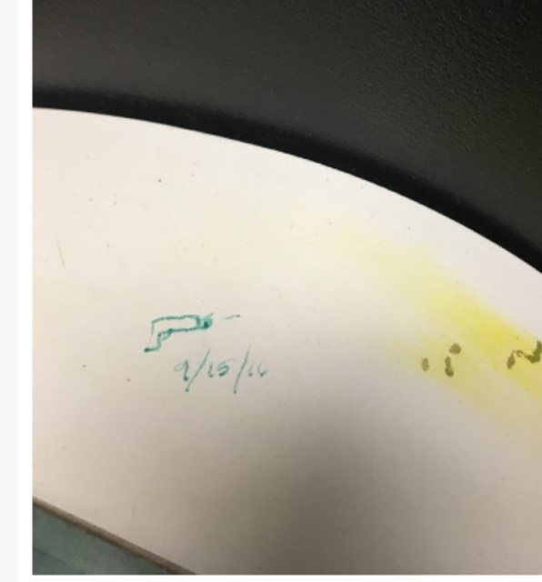 This drawing with the date 9-15-16 was reported to the Huntsville High School resource officer. (Photo: Viewer submission)