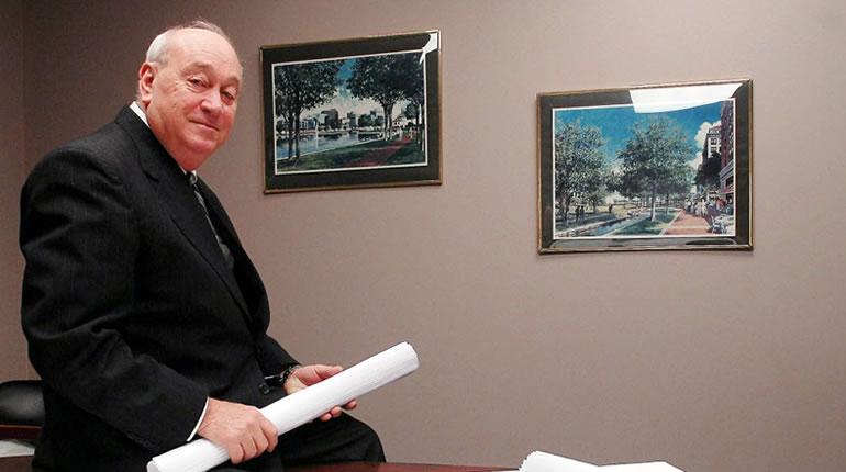 Dallas Fanning, retired City of Huntsville Planner (Photo: Al.com)