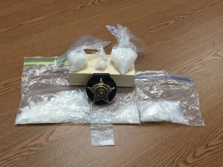 Ice Meth (Photo Courtesy of the Limestone County Sheriff's Office)