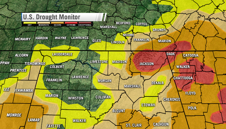 9/15/16 Drought Monitor Update
