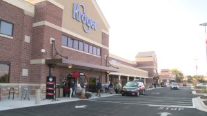 The new Kroger is located at 4579 Wall Triana Highway in Madison.
