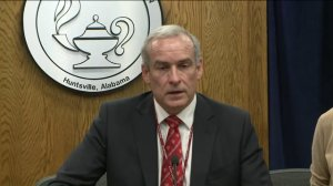 Dr. Casey Wardynski announced his resignation as Superintendent of Huntsville City Schools on Sept. 14, 2016. (WHNT News 19)