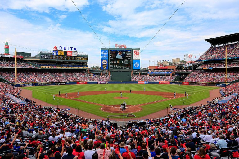 ATLANTA, GA - OCTOBER 02: A general view of the stadium during the game between the Atlanta Braves and the Detroit Tigers at Turner Field on October 2, 2016 in Atlanta, Georgia. (Photo by Daniel Shirey/Getty Images)