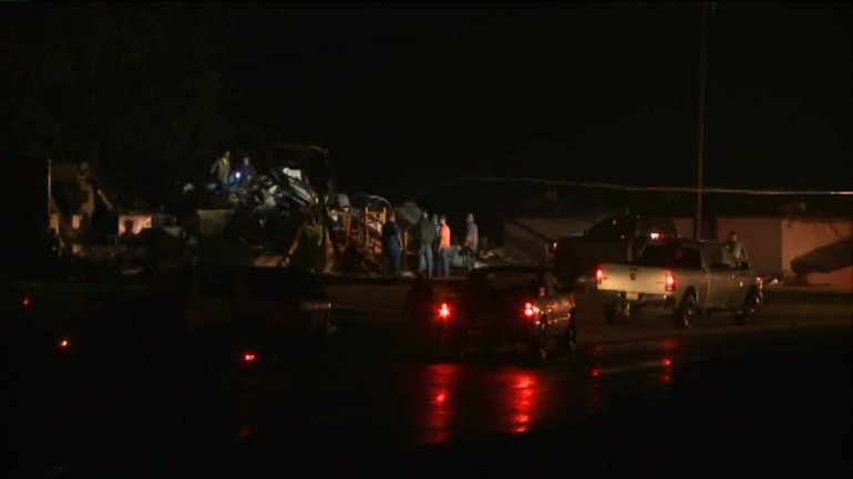 Mobile home destroyed after storms hit Colbert County Tuesday