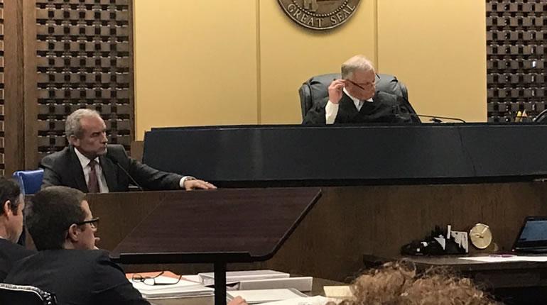 Dr. Casey Wardynski, former superintendent of Huntsville City Schools, testifies in court on Nov. 1. (Shane Hays/WHNT News 19)