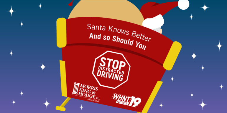 Christmas Distracted Driving - sleigh - Twitter