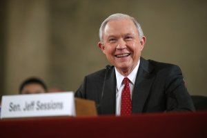 Sen. Jeff Sessions (Photo by Chip Somodevilla/Getty Images)