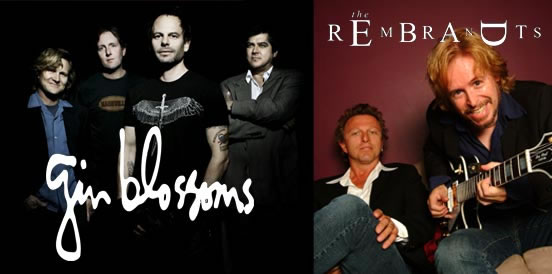 The Gin Blossoms and The Rembrandts will perform at WhistleStop on Friday, May 5.