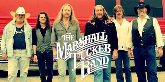 The Marshall Tucker Band will perform at WhistleStop on Saturday, May 6.