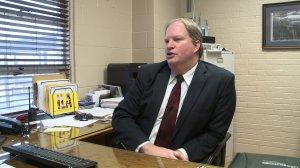 Tony Willis is Principal of L.E. Willson Elementary. (WHNT News 19)