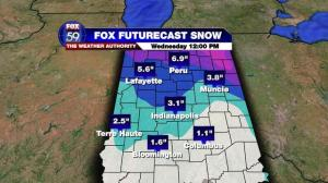 Snowfall Forecast CITIES