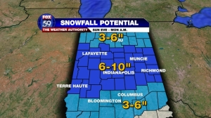 WINTRY MIX FORECAST