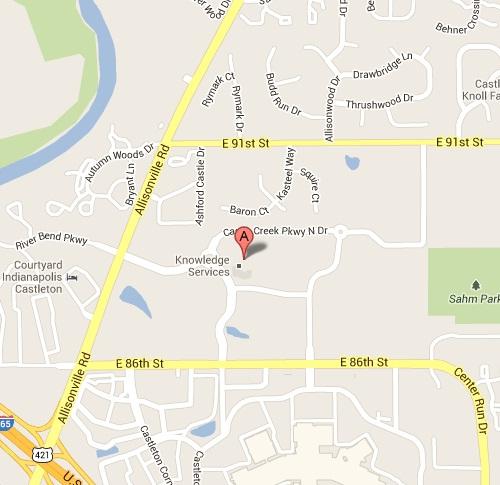 TLC Location Map