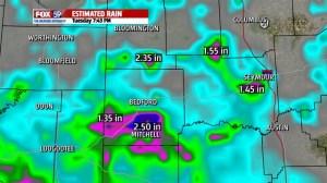 Estimated Rainfall