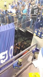 fans injured at LOS