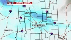 Est snowfall
