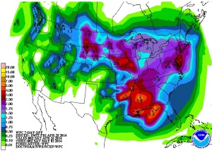 7 day QPF Friday