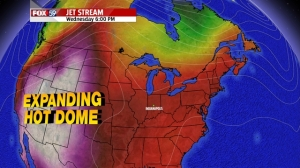 Pattern flattens in the days ahead- heat comes east