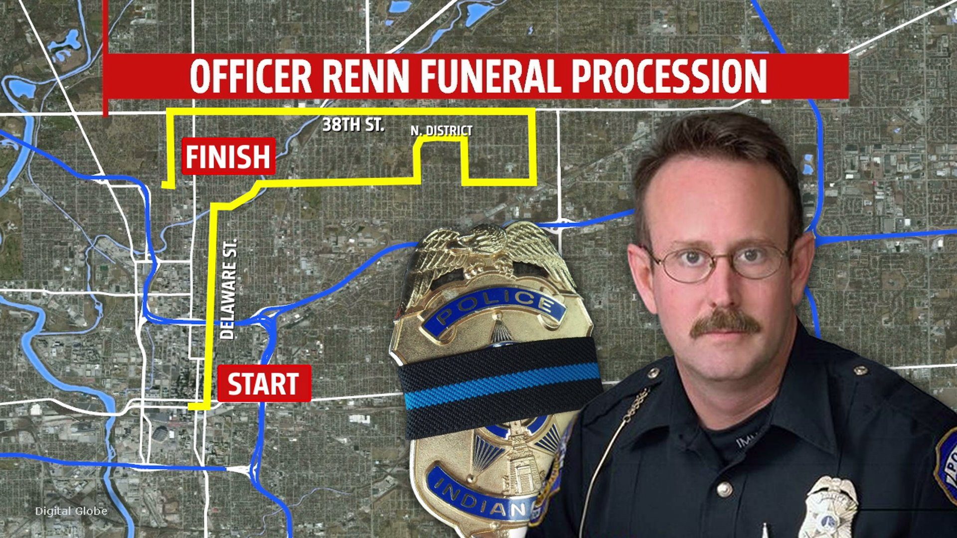 officer renn procession