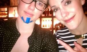 Rachel and Karlijn (photo courtesy of Facebook)