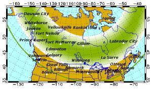 Aurora forecast Saturday
