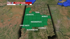 Flash flood watch for Wednesday night into early Thursday AM