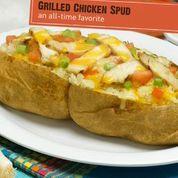 Grilled Chicken Spud