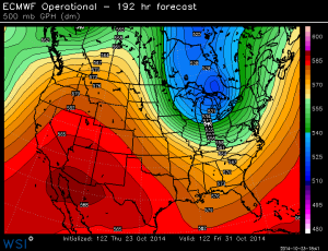 New outlook for Halloween is cool, a forecast that seems to be changing again