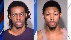 Jalil Hannah (left) and Walter Fells (right). IMPD said no photo of Terrell Lucas was available.