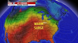 warm surge early next week