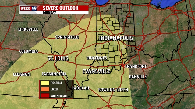 Risk area for the state has been scaled back.